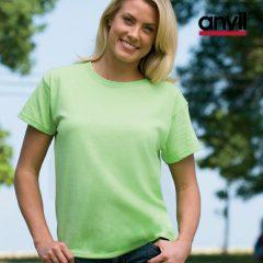 Women Basic Pre Shrunk T-Shirt