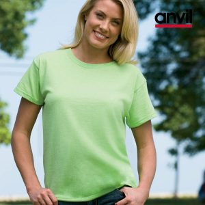 Women Basic Pre Shrunk T-Shirt