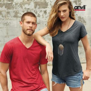 Women Featherweight V-Neck