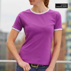 Women Ringer T-Shirt