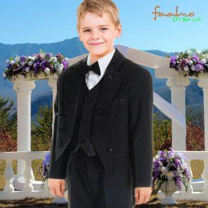Kinder Anzug Frack 5tlg
