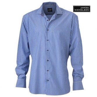 Men Stripes Hemd