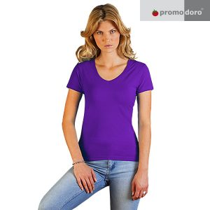 Ladies Slim Fit V-Neck T-Shirt