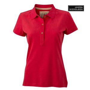 Ladies Vintage Polo