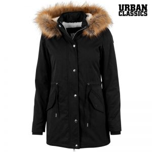 Ladies Sherpa Parka