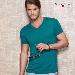 James Organic V-Neck T-Shirt