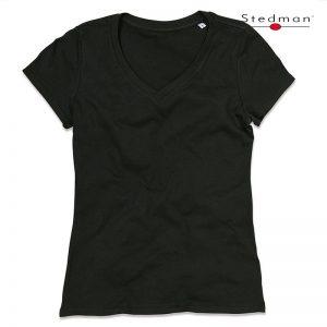 Janet Organic V-Neck T-Shirt